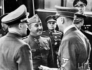 Francisco Franco Adolf Hitler Hendaya