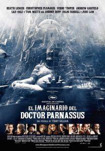 el imaginario del doctor parnassus - cartel