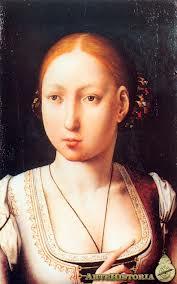 La joven Juana, princesa de Castilla y Aragón.